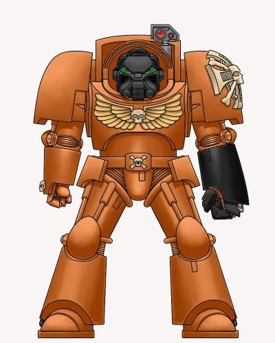Mes Spaces Marines : les Blazing Templars 427741spacetermiorange