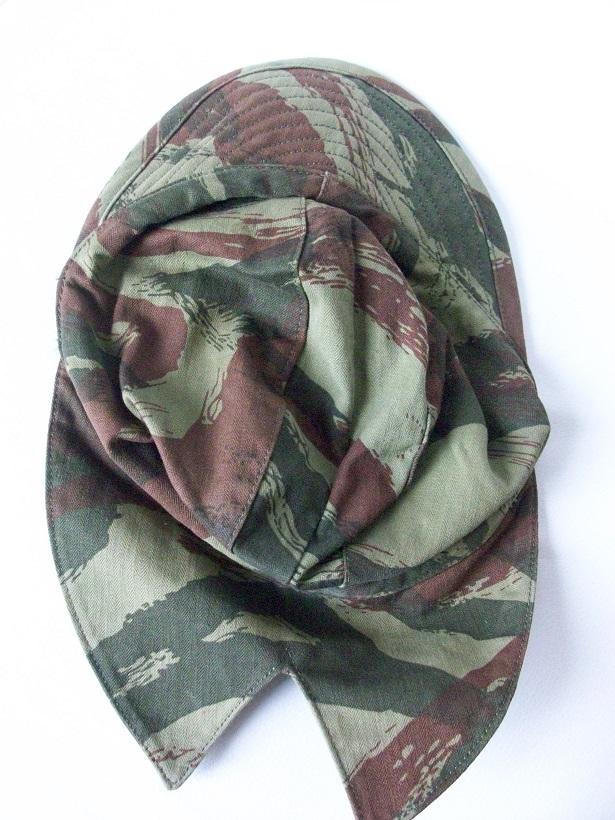 Identification casquette bigeard et filet de camouflage. 4282071002799