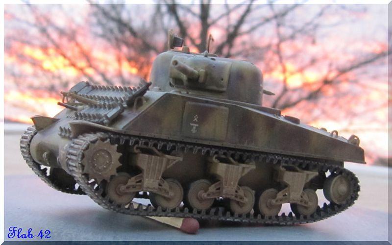 Beutepanzer Sherman M4A2 - Dragon - 1/72ème  428235termin1