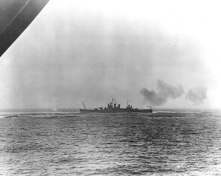 USN CROISEUR LOURD USS WICHITA 428407USSWichitaCA45Casablanca08111942