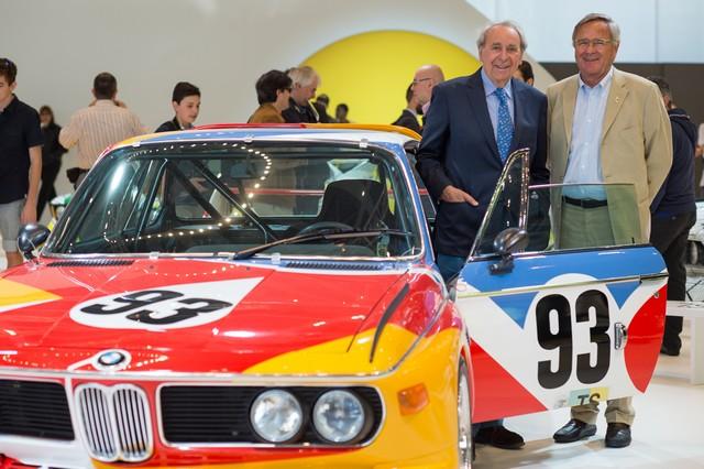 BMW célèbre ses 40 ans de BMW Art Cars 428559P90185166