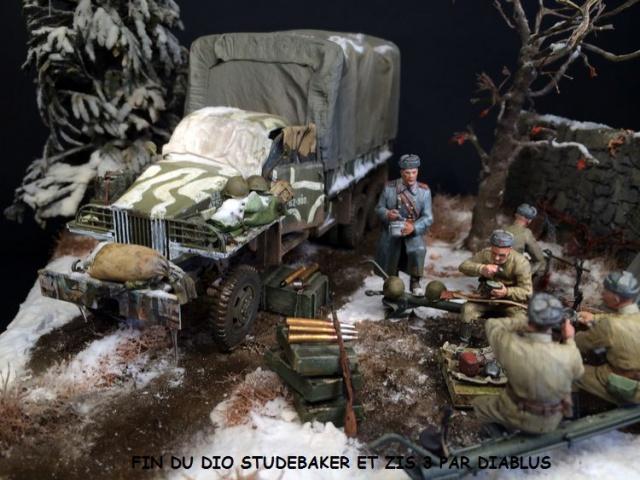 Studebaker US6 U4 version russe marque ICM 1/35 et canon ZIS 3 miniart 430134finduStudebaker003