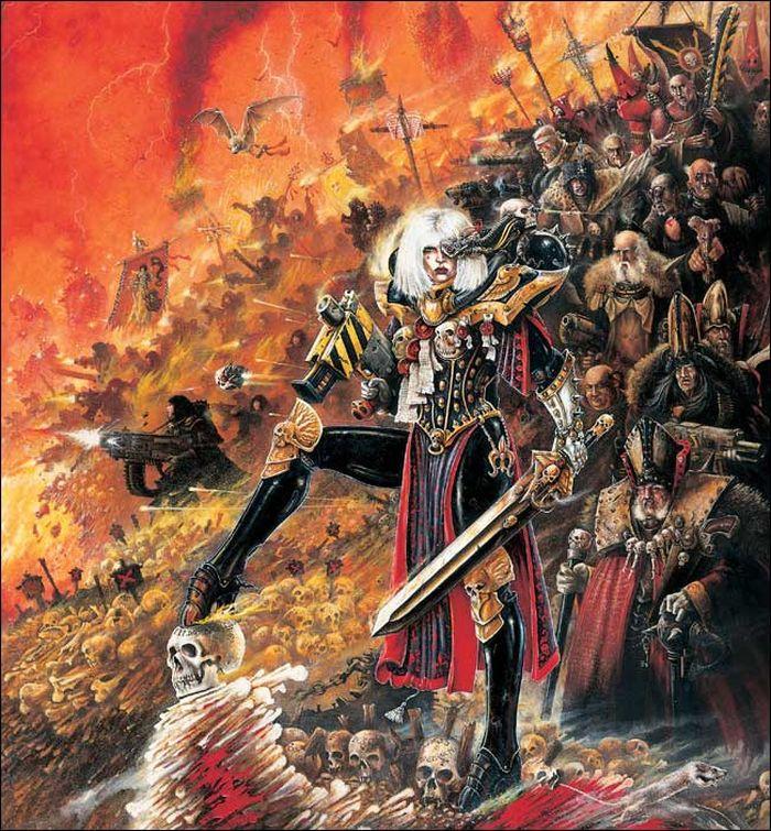 La Volonté de l'Empereur de John Blanche (Art Book) - Page 2 432273Blanche2