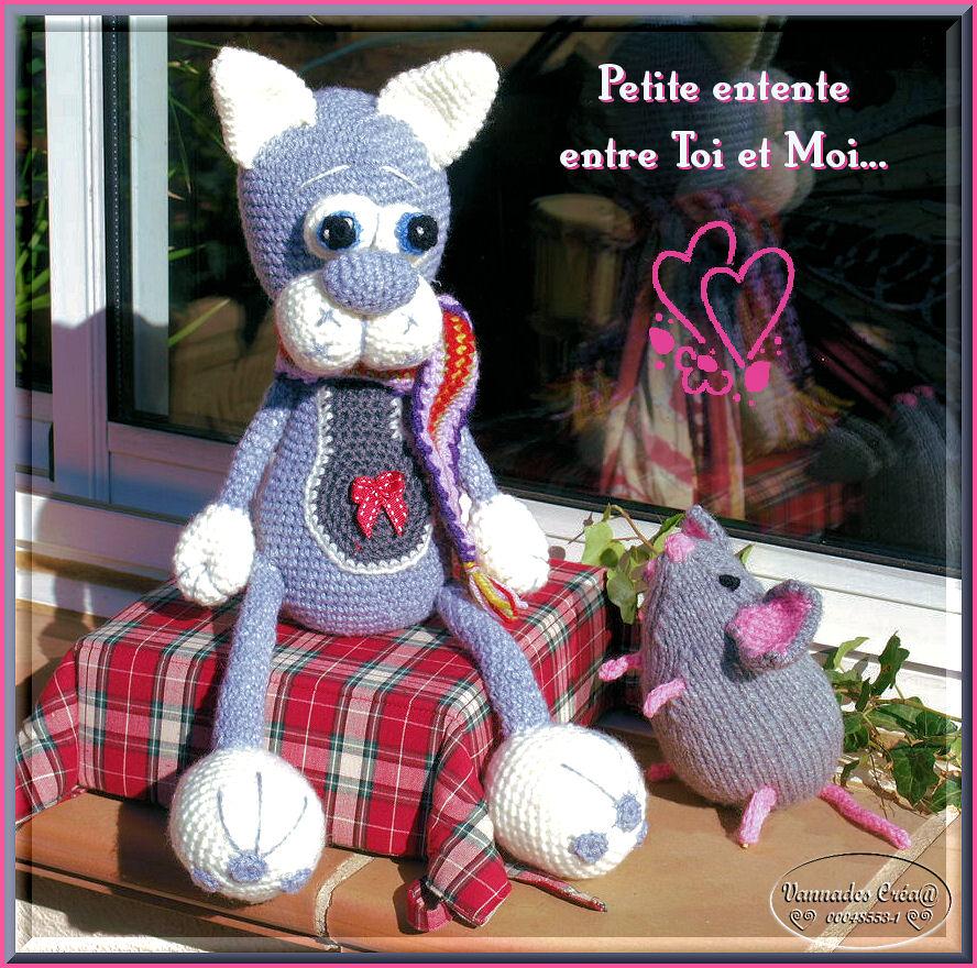 Mon Chat  au crochet ♥♥♥ 432406petiteententeentretoietmoi