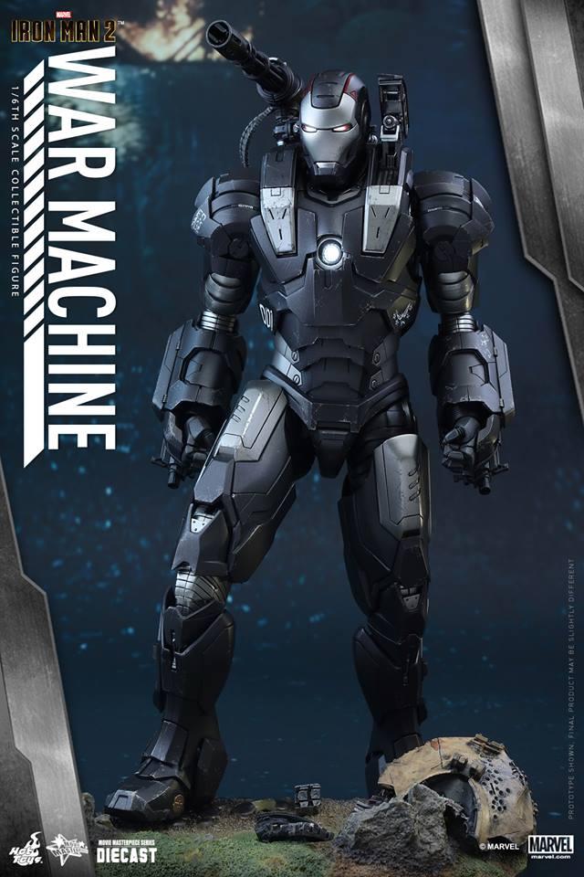 HOT TOYS - Iron Man 2 - War Machine Diecast 433121108