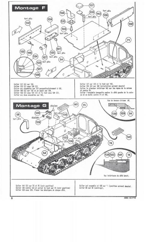 AMX 13 VTB - (Réf. L787) 1/35 433777VTB006