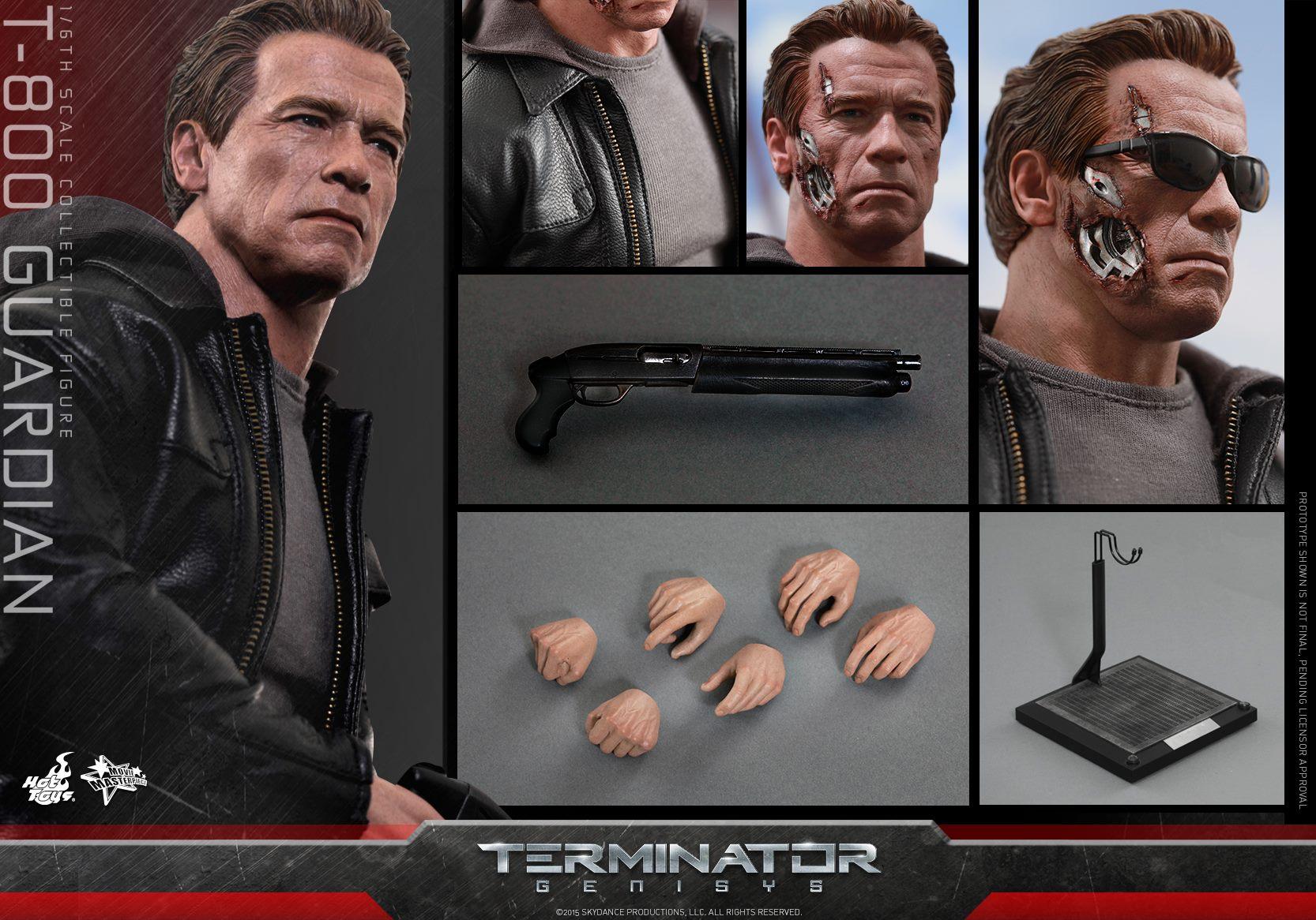 HOT TOYS - Terminator Genisys - T-800 Guardian 433930118