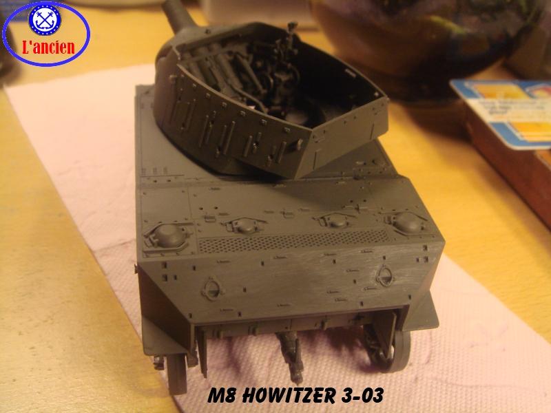 M8 US Howitzer  au 1/35 par l'ancien 436359m8303