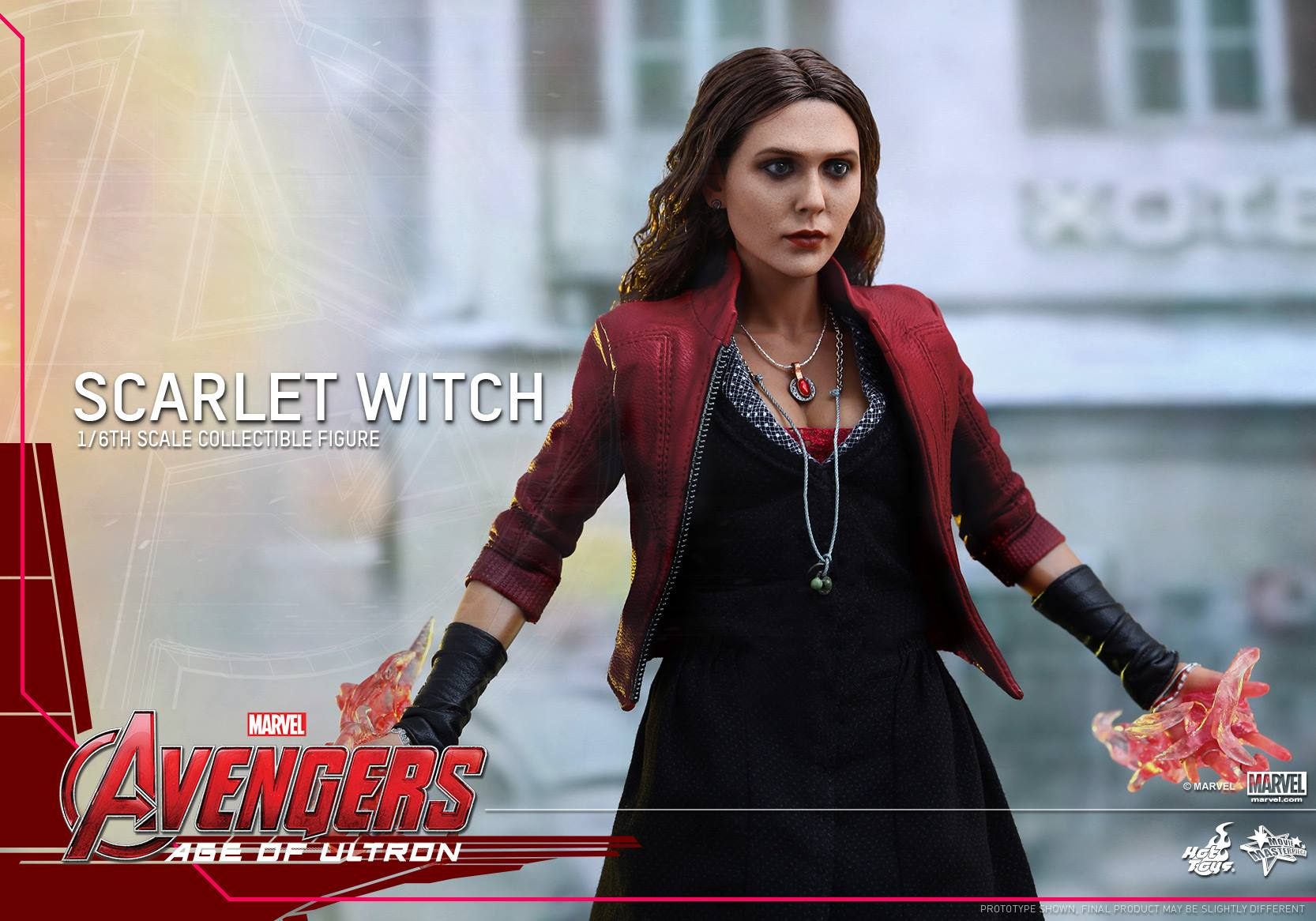 HOT TOYS - Avengers: Age of Ultron - Scarlet Witch 440690105