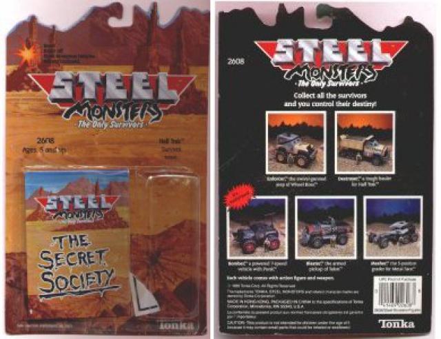 Steel Monsters (Tonka) - 1986 441398back