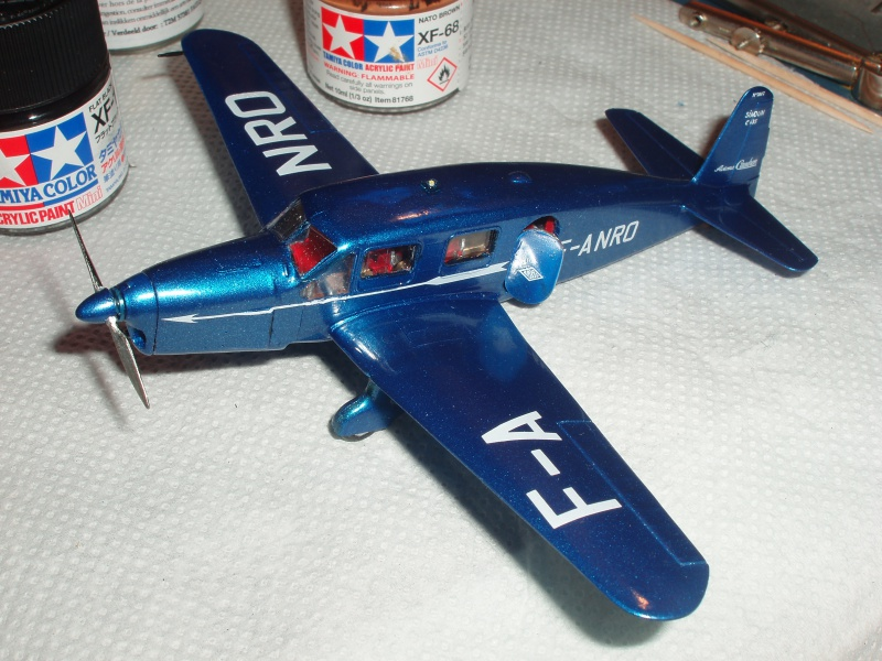 Heller avion Caudron Simoun (version Air Bleu). 441911cs26