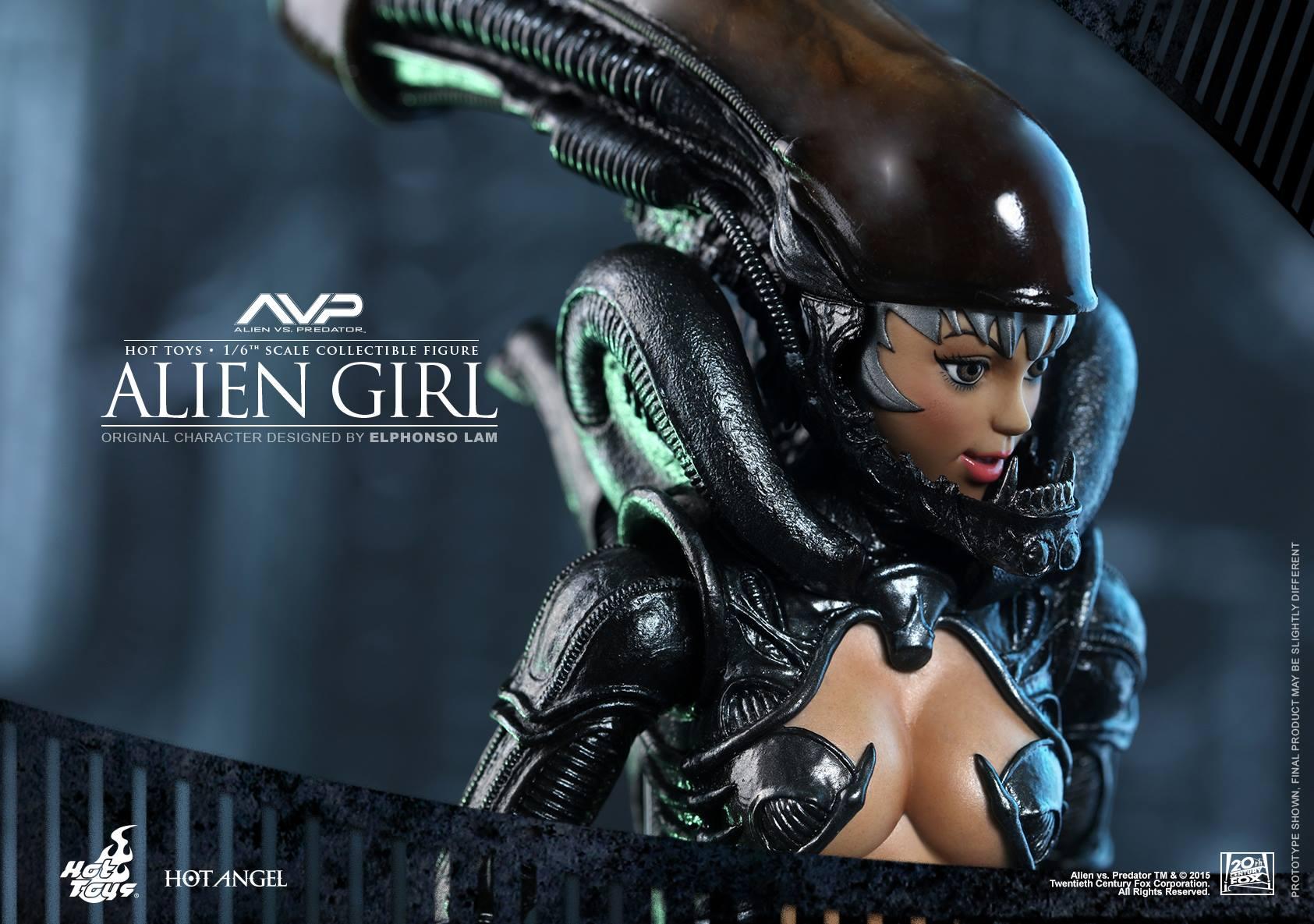 HOT TOYS - AVP - Alien Girl 442822117