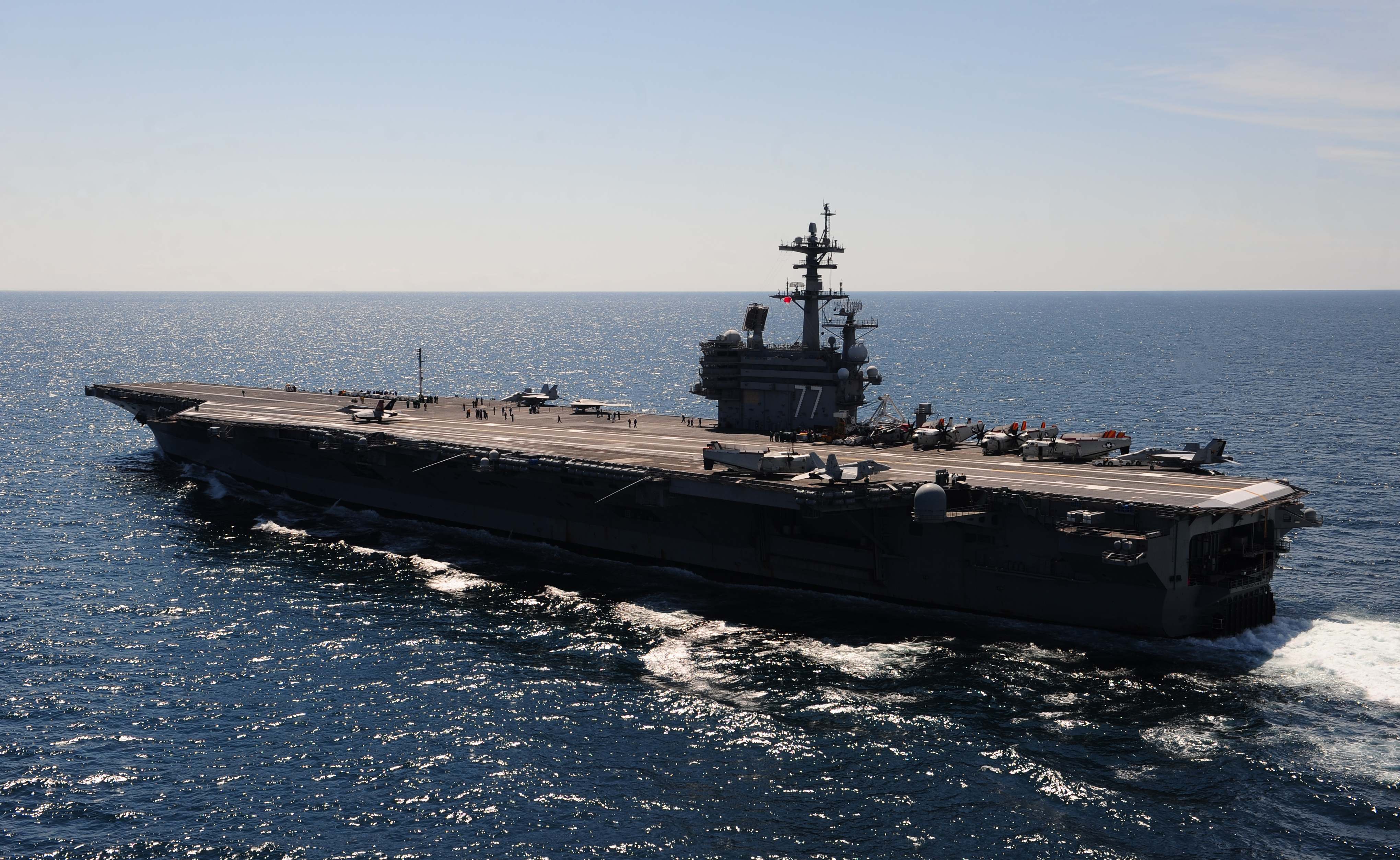 USS George H.W. Bush CVN 77 au 1/700 44298514mai2013