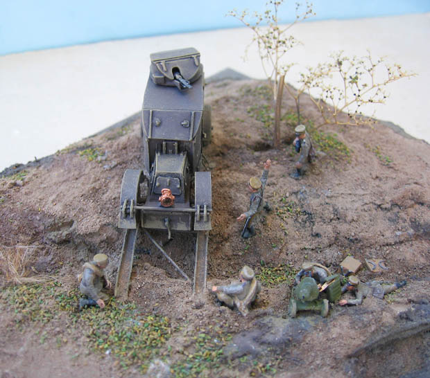 [Retrokit] - Automitrailleuse Charron chez les russes en 1914. 443205Charron34