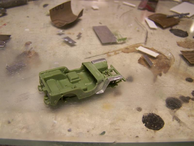 "Bren carrier ""Deep wading"" et Jeep Juno Beach partie 04 4451021007276"