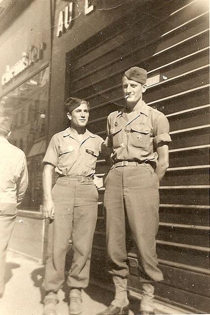 Le Bataillon de Choc 1943/1963. Photos. 445500DijonSgtOrbgozoetLtArguillires
