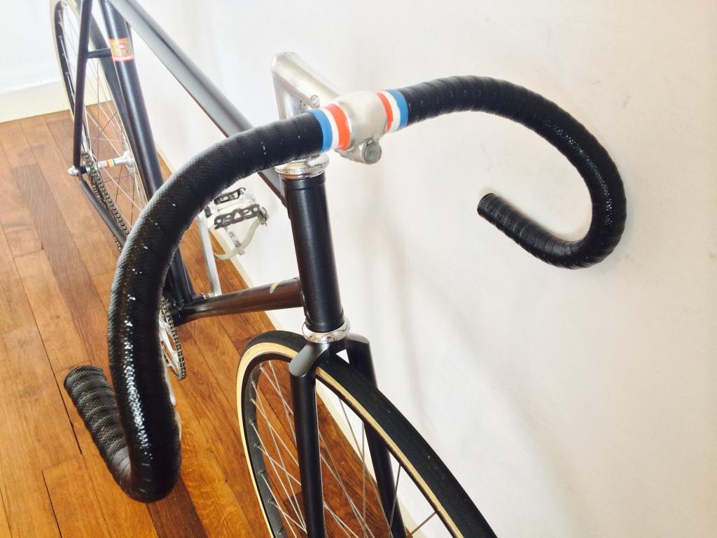 Vélo de piste Jean Marie Brun Tubes Columbus 445892image