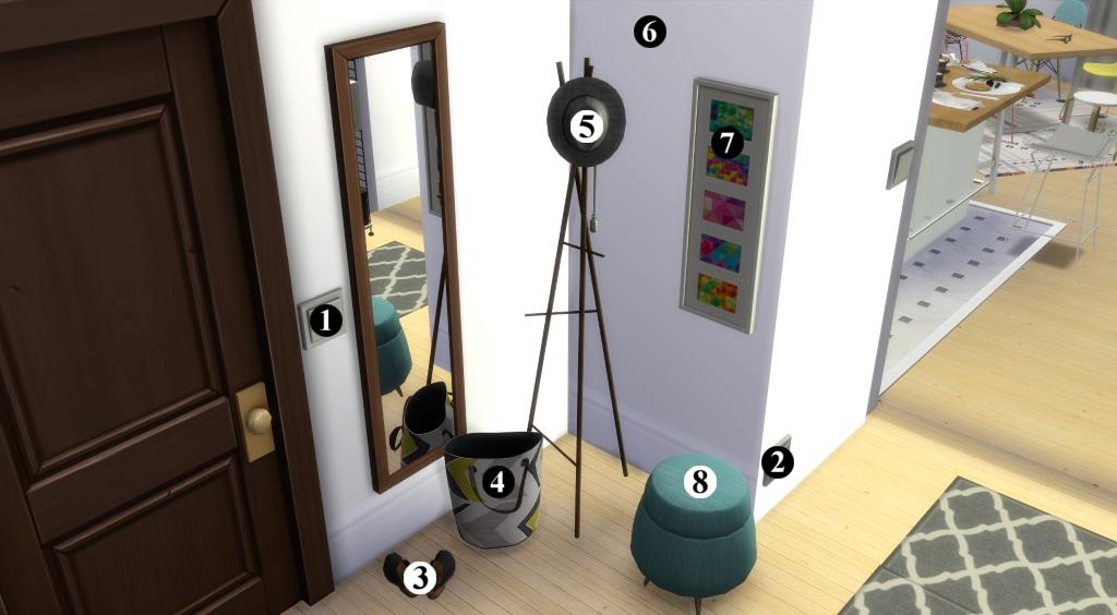 Appartement scandinave (let's build et téléchargement) 4469542en1024avecnumros
