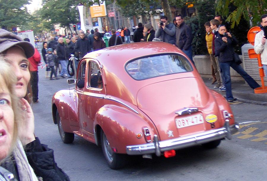 """Bruxelles côté BD  """"Tintin en automobile"""" 446962DSCF6136"""