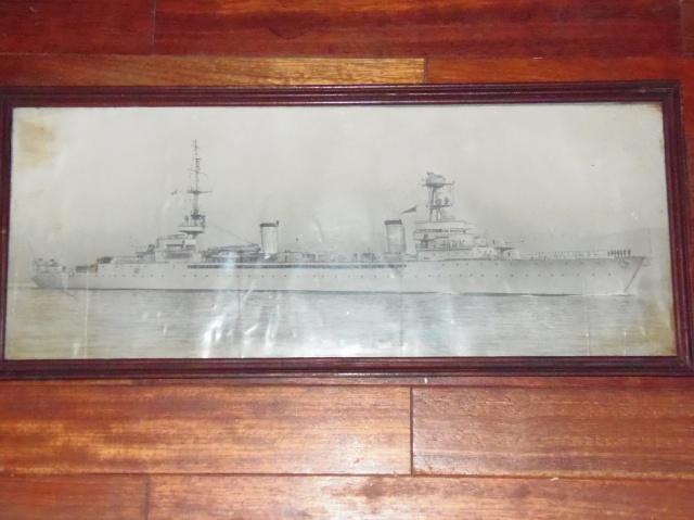 photo d'un bateau et carte d'Orange 449916P3010093