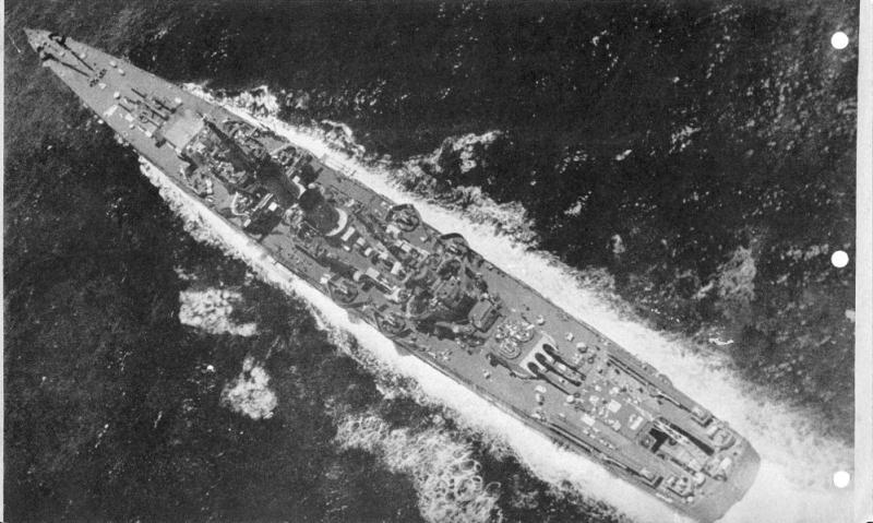 USN CROISEUR LOURD USS WICHITA 450539USSWichitaCA45vuearienne
