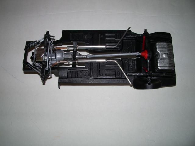 mustang shelby 350 GT 1965  kit monogram 1/24 . 450674IMGP3036