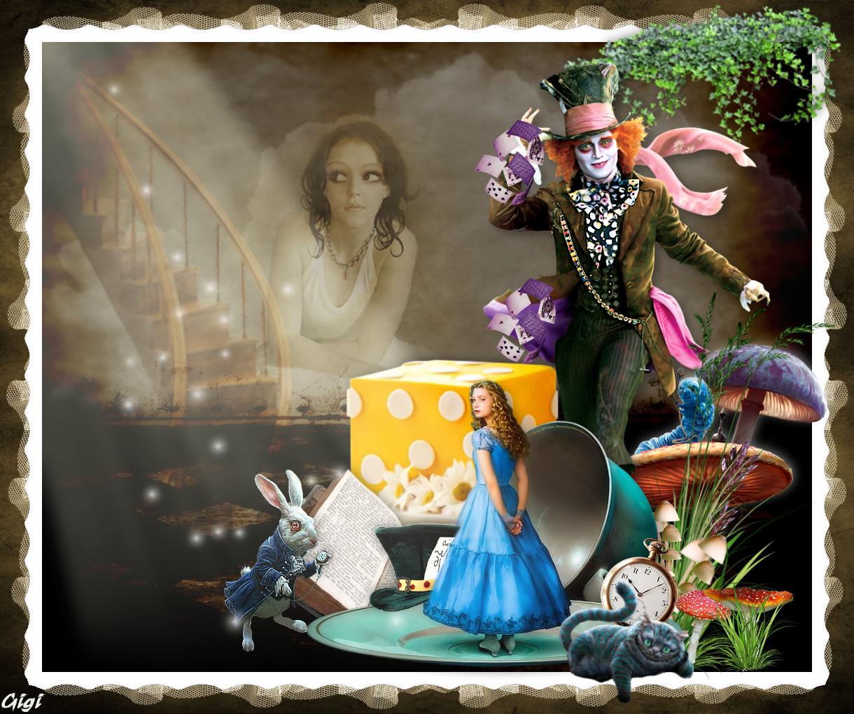 Alice au pays des Merveilles 4509841323