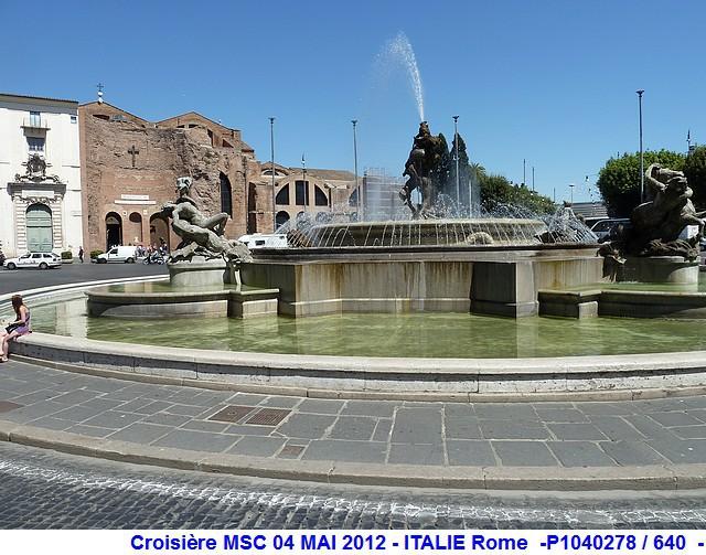 MSC Splendida Du 28 avril au 5 mai 2012 Gêne Barcelone Tunis La valette Taormine Messine Rome 452462P1040278