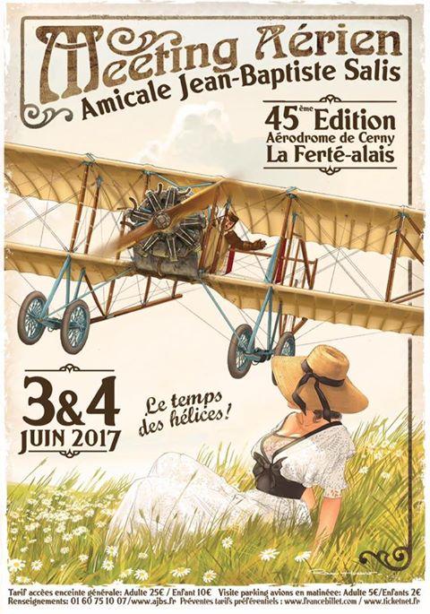"""La Ferté Alais """" Le Temps des Hélices"""" 3 et 4 juin 2017 453376Affiche20171"""