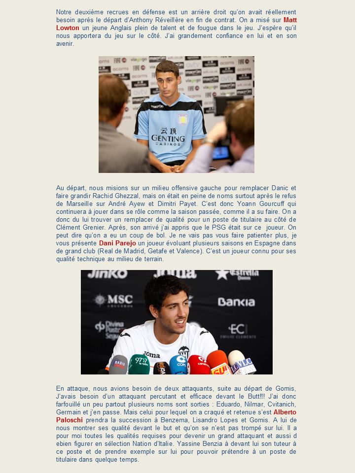 """OLWEB: """"Le site officiel de l'Olympique Lyonnais"""" 453719Diapositive4"""