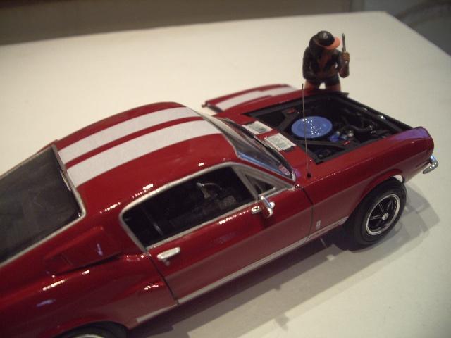 mustang shelby 350 GT 1967  au 1/25 de chez AMT/ERTL  454663IMGP1060
