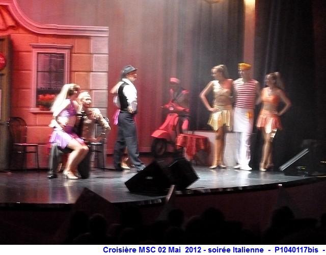 MSC Splendida Du 28 avril au 5 mai 2012 Gêne Barcelone Tunis La valette Taormine Messine Rome 454726P1040117