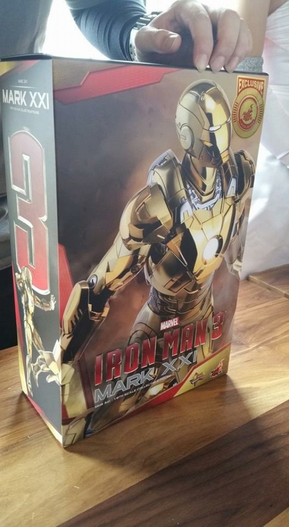 IRON MAN 3 - MARK XXI MIDAS ELECTROPLATED VERS. 455146image1