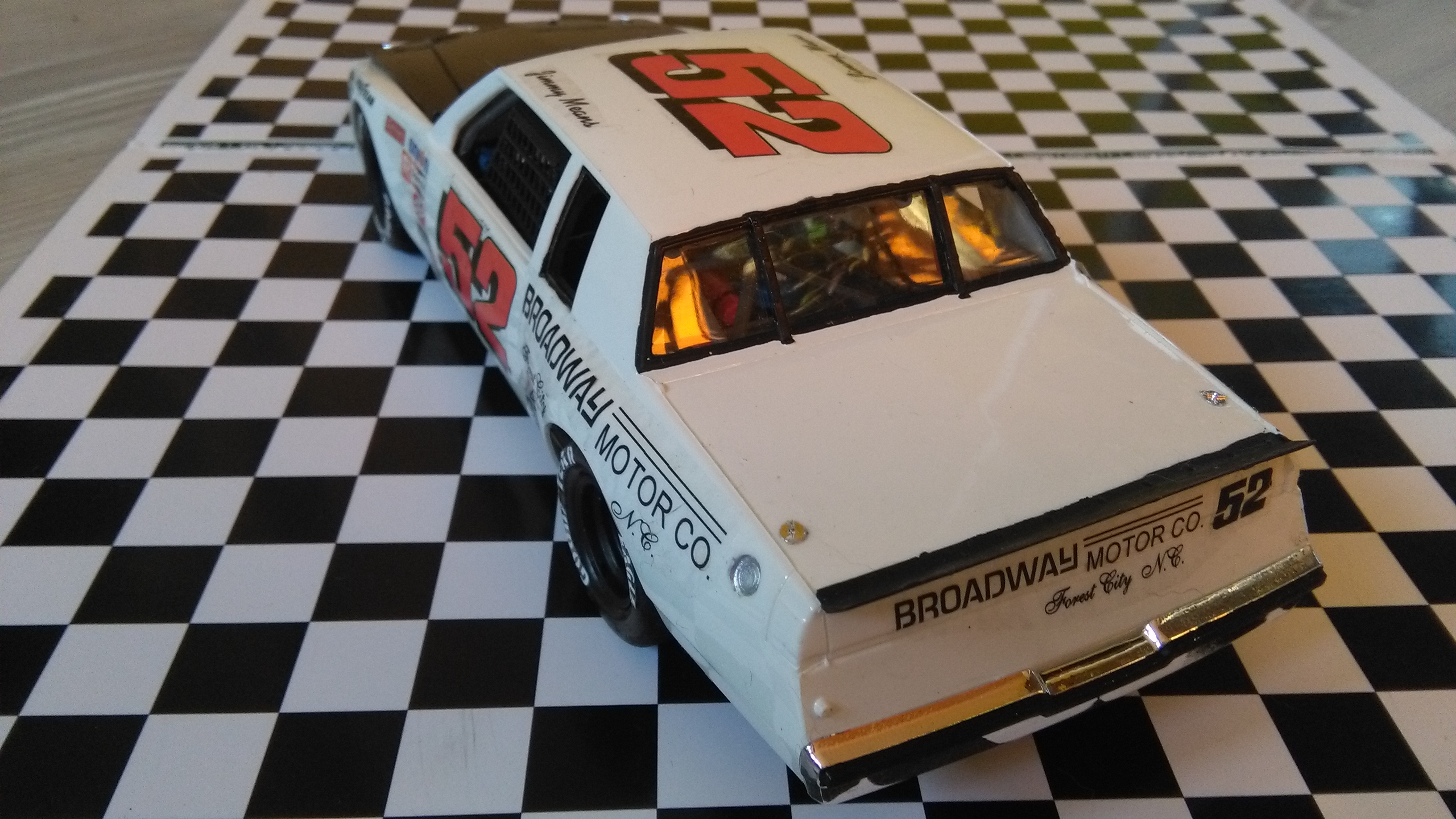 Buick Regal 1982 #52 Jimmy Means Broadway motor  455160IMG20170216083005