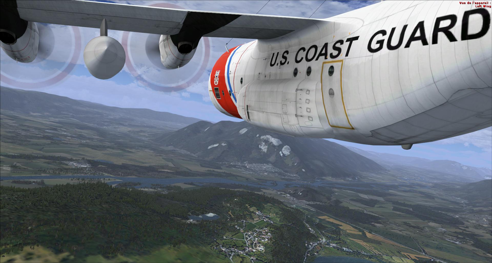 Compte rendu vol réseau en c130 captain sim 4558202014113144745659