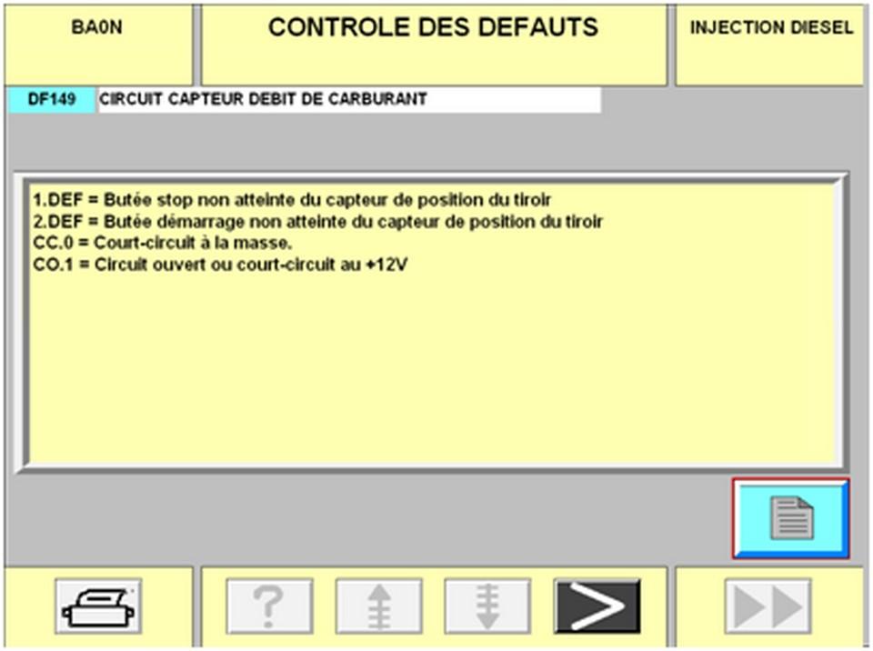 Coupure injection mégane 1.9 DTI 456134diag23