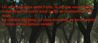 La Forêt de l'Oubli