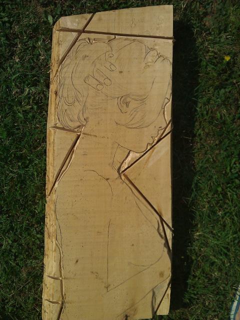 JJ - bas relief d'un nu (2013) 457423020