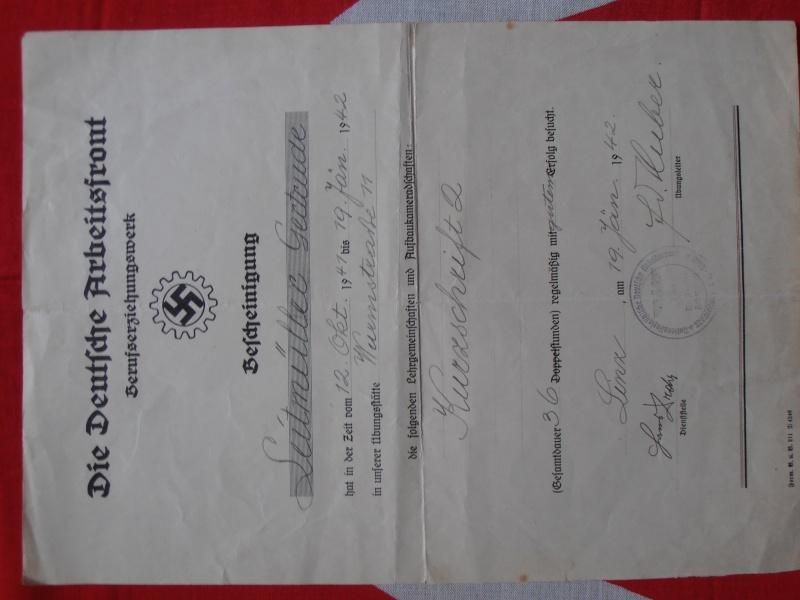 Quelques documents Allemands 458077P6210003