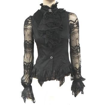 Entre Goths , Punks , Metals & Visual Kei ... 458911ChemisiergothiquenoirSpider