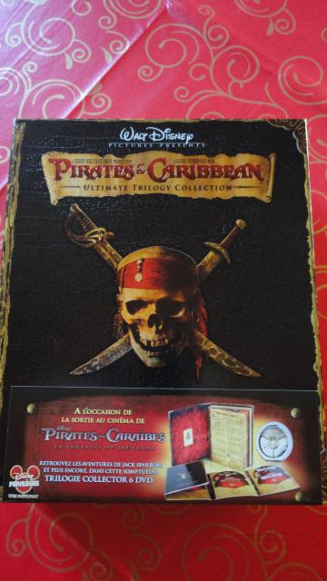 Pirates Des Caraïbes: La Trilogie Coffret en Edition Limitée 460141DSC00802