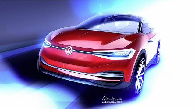 Volkswagen au Salon IAA de Francfort 2017 :Avant-Première de l'évolution de l'I.D. CROZZ  460510hddb2017al01022large
