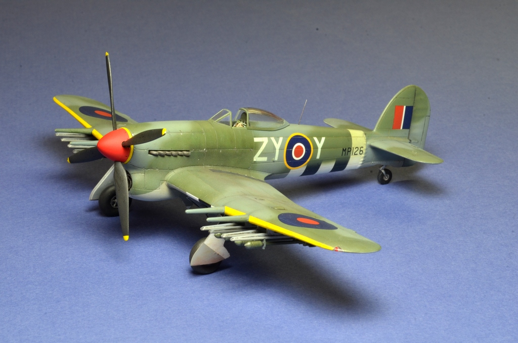 Hawker Typhoon Airfix 1/72 461587Typhoon6