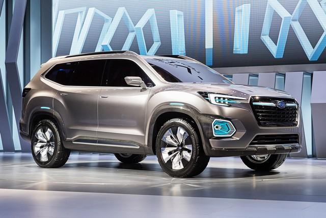 Subaru a dévoilé le concept VIZIV-7 SUV au salon Los Angeles 2016  461668motorshowliveconcept4