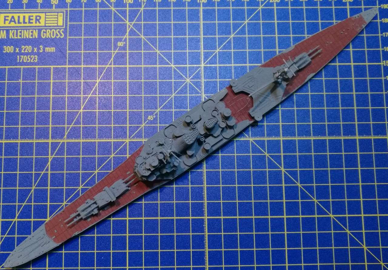 Croiseur TAKAO 1944 1/700 Pit-Road 462734Takao23