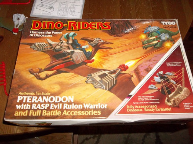 Les jouets DINO-RIDERS ( dinoriders ) - IDEAL 463267KGrHqFn0FCrVQf9gBQtrtVtNg6012