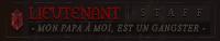 Lieutenant | Staff