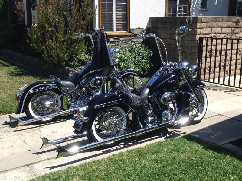 Harley Davidson Softail Deluxe Gangster Style