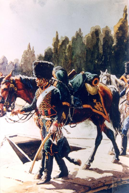 Les chasseurs à cheval de la Garde 464557CCGI14
