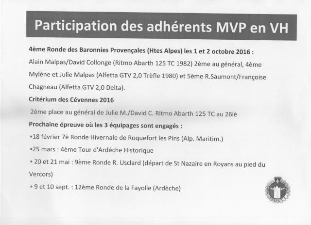 calendrier des participations des adhérents MVP en VH 464596MVPparticpationsVHadhrents2017001